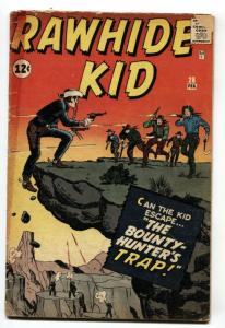 Rawhide Kid #26 1962-Marvel-cover & stories by Jack Kirby-g/vg