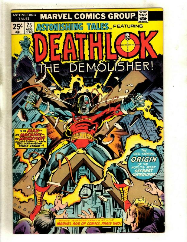 Astonishing Tales # 25 VF/NM Marvel Comic Book Feat. Deathlok 1st Appearance RS1
