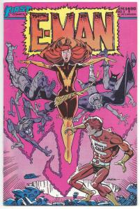 E-MAN #3, VF/NM, Signed Joe Staton, First Comics 1983 more Indies in store