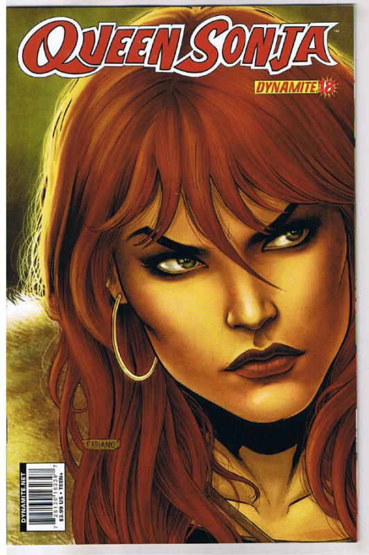 QUEEN RED SONJA #18, NM-, She-Devil, Sword, Fabiano Neves, 2009,more RS in store