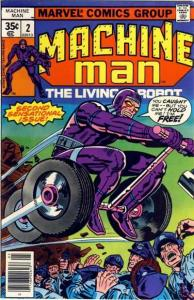 Machine Man (1978 series) #2, VF- (Stock photo)