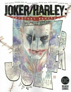 JOKER HARLEY CRIMINAL SANITY SECRET FILES #1 NM COVER A DC COMICS