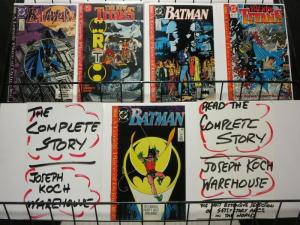 BATMAN LONELY PLACE OF DYING  1-5  1ST TIM DRAKE/ROBIN COMICS BOOK