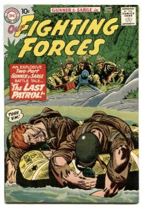 Our Fighting Forces #55 1959-DC Silver Age War comic FN+
