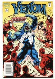 Venom: Carnage Unleashed #2-Great cover-1995 Marvel Comic Book NM-