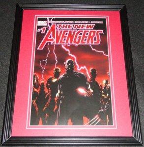 New Avengers #1 Marvel Framed Cover Photo Poster 11x14 Official Repro