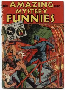 Amazing Mystery Funnies #12-1939-Fantom of the Fair-Golden Age CENTAUR