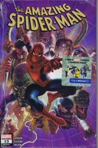 Amazing Spider-Man #33 Variant Walmart Exclusive 3 Pack 2020 Marvel Comics