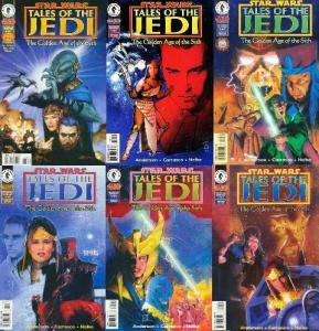 STAR WARS TALES OF THE JEDI GOLDEN AGE OF THE SITH  0-5