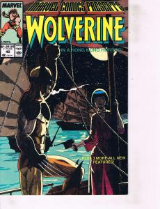 Lot Of 2 Marvel Books Wolverine #40 and #42  Ironman  ON2