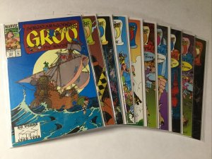 Groo 101-110 Lot Set Run Nm- Near Mint- Marvel Comics