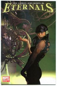 ETERNALS 1 2 3, 5 6 7, NM, Neil Gaiman, Romita Jr, 2006, 1-7 Issue set but no #4