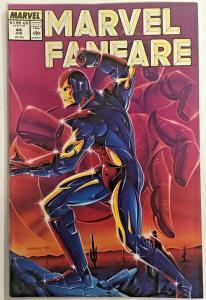 MARVEL FANFARE#44 FN/VF 1989 MARVEL COMICS