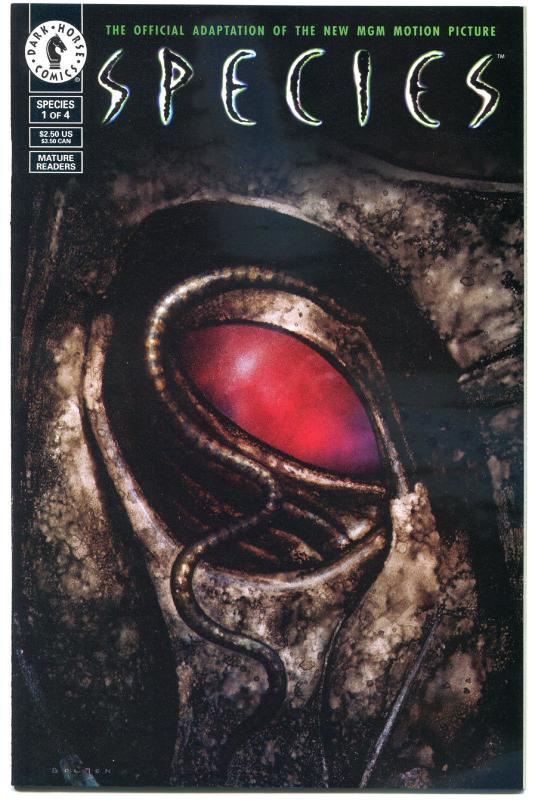 SPECIES #1 2 3 4, VF/NM, Alien, 1995, 4 issues, more HORROR & SCI-FI in store