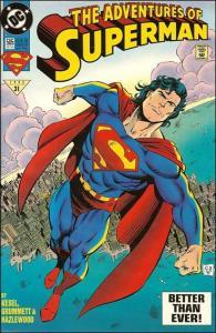 DC ADVENTURES OF SUPERMAN (1987 Series) #505 VG