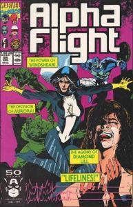 Marvel ALPHA FLIGHT (1983 Series) #95 VF