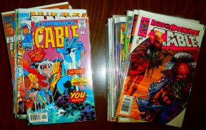 Cable V1 lot + Avengers: X-Sanction #1-4 Cyclops Phoenix, comic book lot of 63