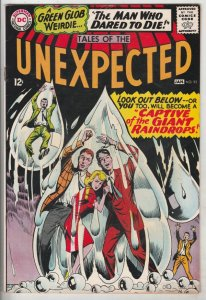 Tales of the Unexpected #92 (Jan-66) VF/NM High-Grade Green Glob