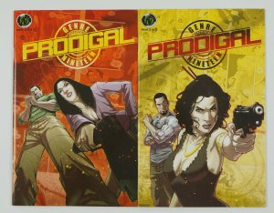 Prodigal: the Egg of First Light #1-2 VF/NM complete series - bad girl with gun