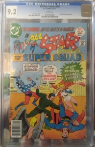 All-Star Comics #65 CGC 9.2 Vandal Savage appearance