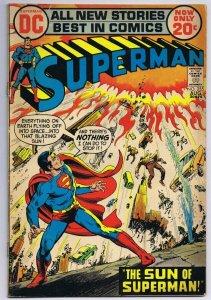 Superman #255 ORIGINAL Vintage 1972 DC Comics