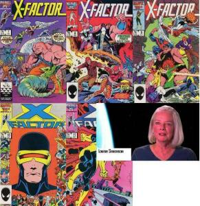 X FACTOR 7-11  Louise Simonson