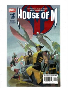 10 House Of M Marvel Comic Books # 1 2 3 4 5 6 7 8 + Day After 1 + Secrets 1 HY5