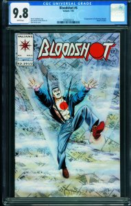 Bloodshot #6 CGC 9.8 1993 Valiant-1st Colin King / Ninjak 1993826014