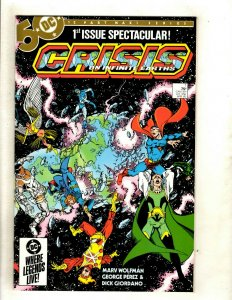 Crisis Infinite Earths Complete DC Comics Series #1 2 3 4 5 6 7 8 9 10 11 12 HJ9