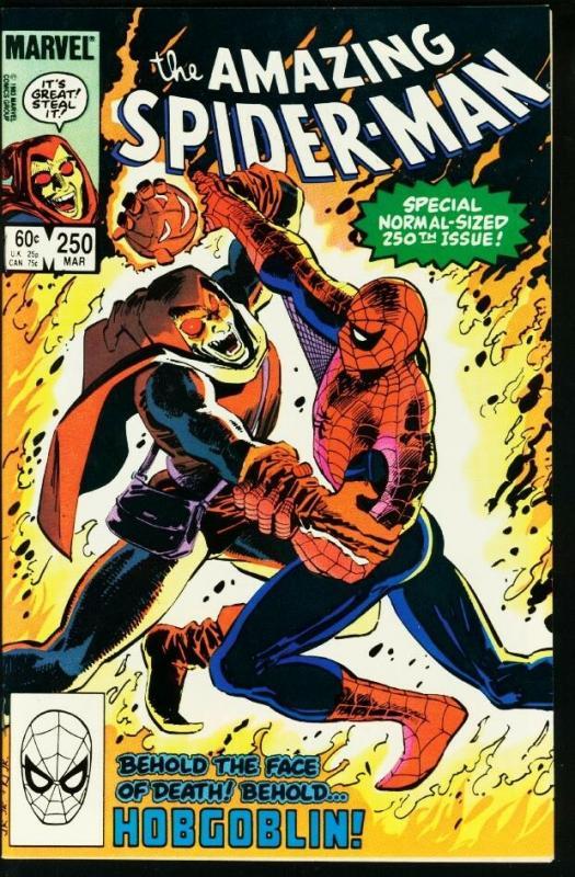 AMAZING SPIDER-MAN #250-1984-MARVEL VF