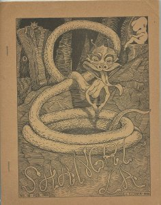 SHANGRI-LA #18 (LASFS Fanzine, 1950) Rare Zine! Kaiser collection!