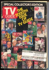 TV Guide 7/27/1991200th Issue-historic-N California Edition-G