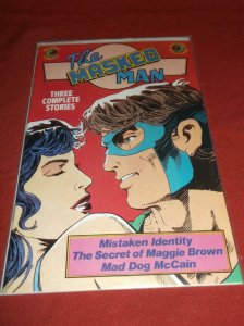 MASKED MAN #2, VF/NM, Eclipse Comics 1984 1985 more Indies in store
