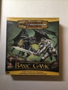 Dungeons and Dragons Basic Game Opened 2004 Wizards of the Coast