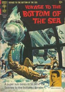 Voyage to the Bottom of the Sea #9 FN; Gold Key | save on shipping - details ins