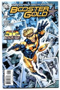 BOOSTER GOLD #1 comic book NM- 2007-DC