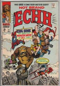 Not Brand Echh #11 (Dec-68) VF/NM High-Grade Marvel Heroes, King Konk