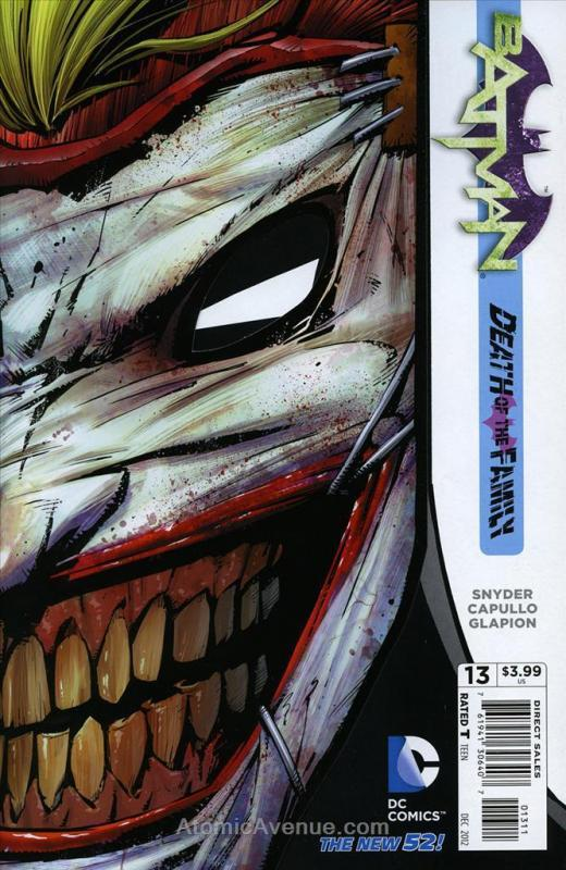 Batman (2nd Series) #13 VF/NM; DC | save on shipping - details inside