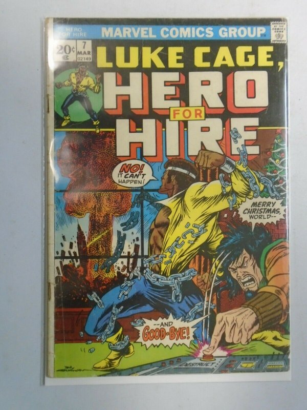 Power Man and Iron Fist #7 Luke Cage 3.5 VG- (1973 Hero for Hire)
