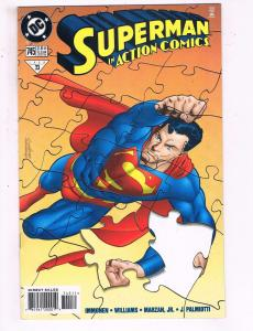 Action Comics #745 VF DC Comics Comic Book Immonen Superman 1998 DE16