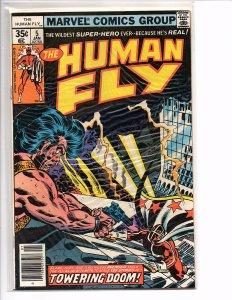 Marvel Comics The Human Fly #5  Malik Introduction Frank Robbins Art