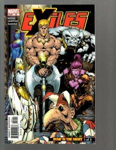 12 Marvel Comics Exiles #55 59 60 61 62 63 64 65 66 67 68 69 EK22
