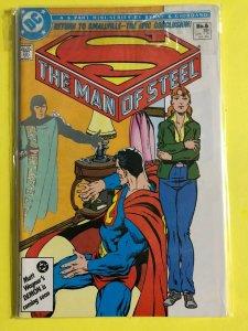 SUPERMAN   THE MAN OF STEEL MINI SERIES   #6 OF 6  1986  DC  /  UNREAD