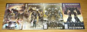 Transformers: Revenge Of The Fallen Prequel - Alliance #1-4 VF/NM complete set B