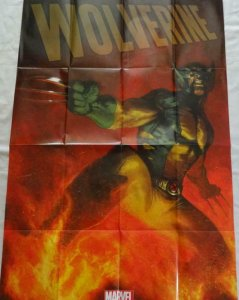 WOLVERINE Promo Poster, 24 x 36, 2013, MARVEL X-MEN Unused more in our store 307