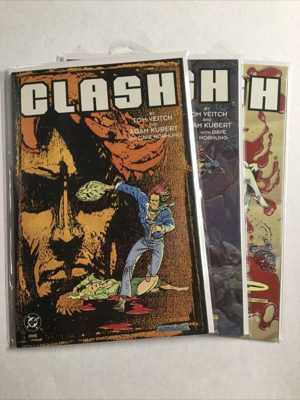 Clash 1-3 1 2 3 Lot Set Run Nm Near Mint Dc Comics