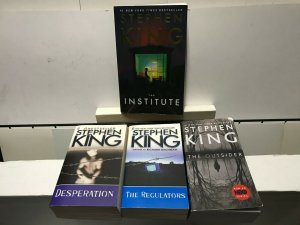 STEPHEN KING BACHMAN LOT of 4 PAPERBACK BOOKS FINE or BETTER READING CONDITION