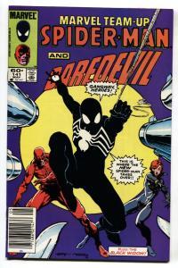 Marvel Team-up #141 First Black Costume Spider-man NEWSSTAND variant