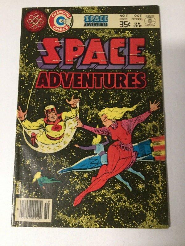 Space Adventures 11 Fn Fine 6.0 Charlton