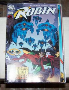 Robin #143 (dec   2005, DC) omas +bludhaven  tim drake  batman